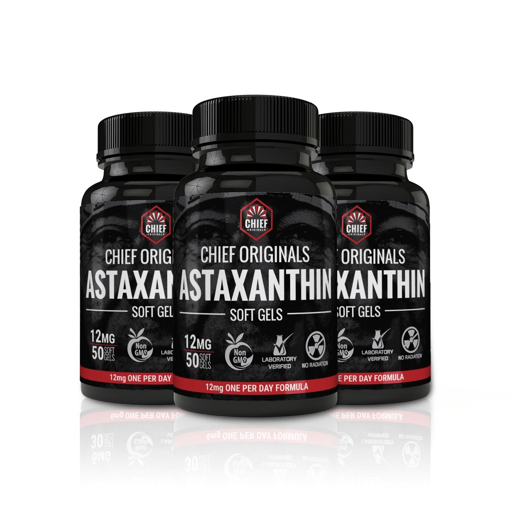 Astaxanthin 12mg 50 Softgel 3 Pack