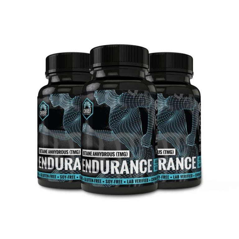 Betaine Anhydrous (TMG) Endurance 450mg 60 Caps